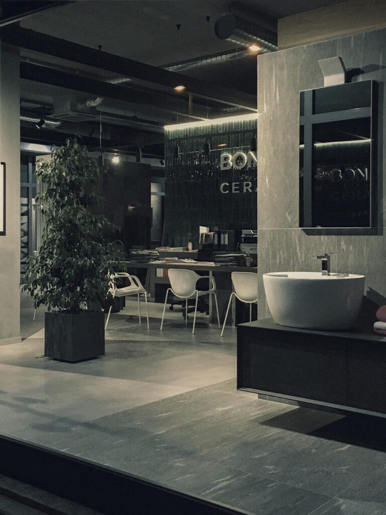 Bonacina showroom